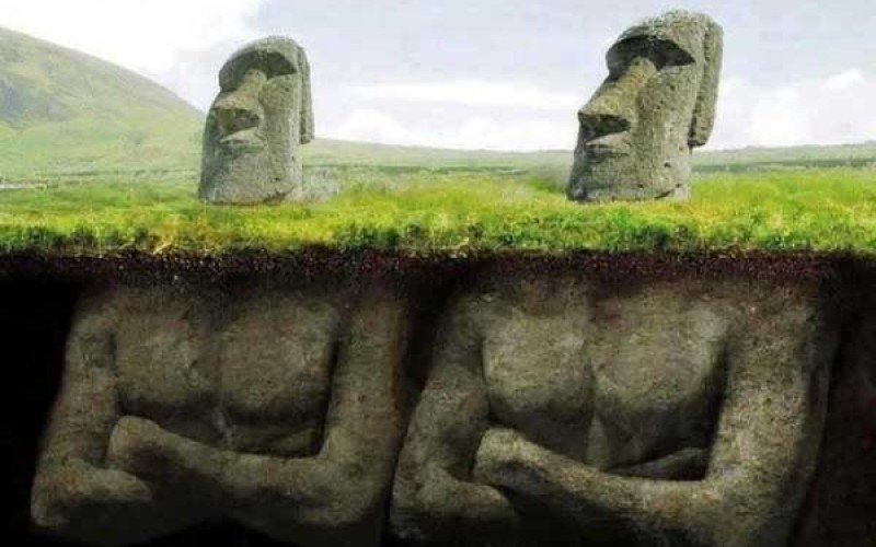 Scientists Uncover A Shocking Discovery Underneath The Easter Island Heads