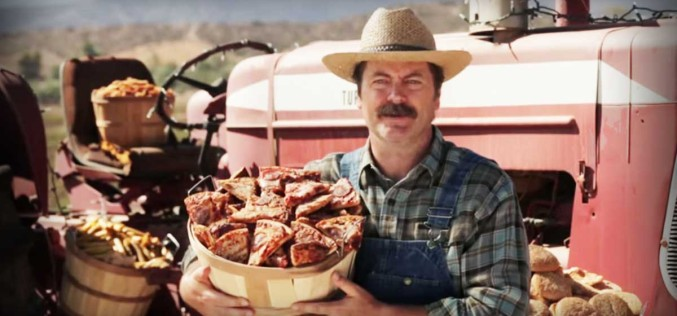 Nick Offerman Is Growing Pizzas On Vines To Raise Awareness For The Heart Association