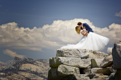 Now This Is A Destination Wedding… An 8.2-Mile Hike And Over A 4,500-Feet-High Climb!