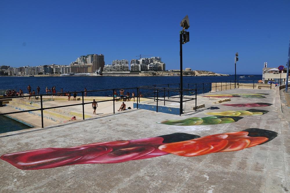 Malta festival art street