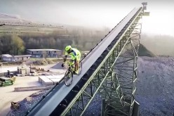 Extreme Freestyle Biking: Vittorio Brumotti Does Impossible Things on a Road Bike