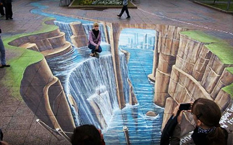 Leon Keer's Is One Of The World's Best 3D Street Artists