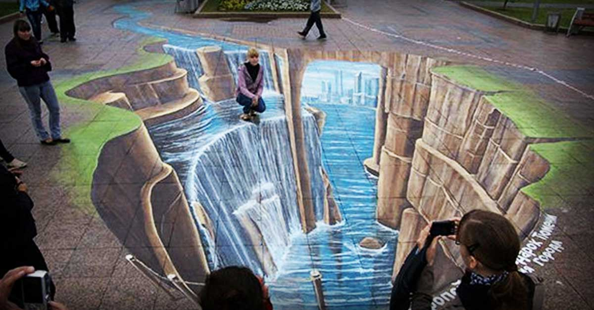 Leon Keer S Is One Of The World S Best 3d Street Artists