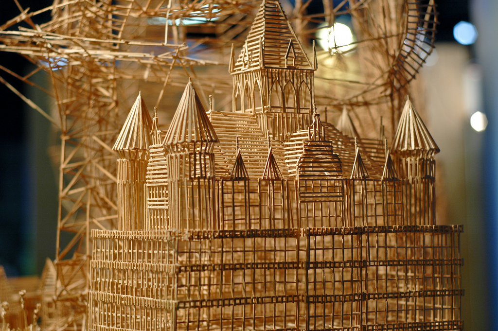 Scott Weavers Toothpick Sculpture