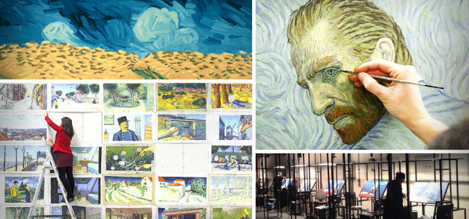 Over 70 Artists Bring Van Gogh Paintings To Life Through A One-Of-Kind Animated Film