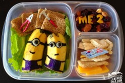 This Dad Makes The Most CREATIVE School Lunches For His Kids